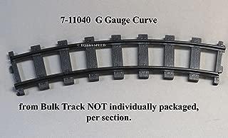 LIONEL G Gauge Curve Train Track Section 7-11040SINGLE Piece
