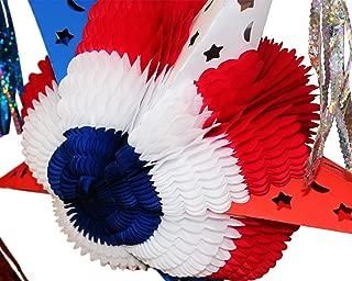 American United States Flag USA FOLDABLE PIÑATA - 20.5 inches