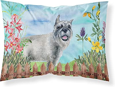 Carolines Treasures Alaskan Malamute Spring Pillowcase Standard Multicolor