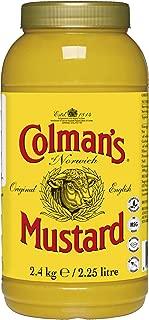 Colman's English Mustard Sauce Original - 2.25lt