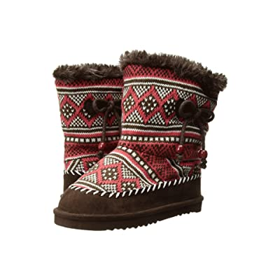 Western Chief Kids Courtney Boots (Toddler/Little Kid) (Brown) Girls Shoes