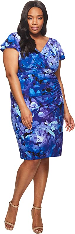 LAUREN Ralph Lauren Plus Size Brisa Hortensia Floral Dress