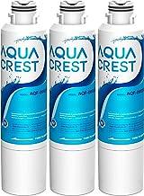 AQUACREST DA29-00020B Water Filter for Refrigerator, Replacement for Samsung DA29-00020A/B, HAF-CIN/EXP, DA29-00020B-1, RF25HMEDBSR, RF28HMEDBSR, RS25J500DSR&More Models, 3 Carbon Filters