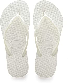 white and gold havaianas
