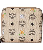MCM - Rabbit Zipped Wallet Mini