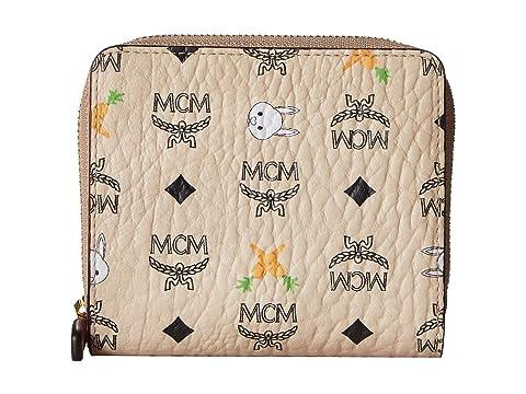 MCM Rabbit Zipped Wallet Mini