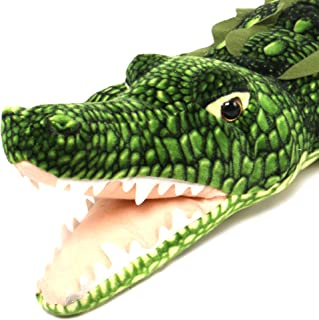 VIAHART Kuwat The Saltwater Crocodile | 56 Inch Long Big Stuffed Animal Plush Alligator | Shipping from Texas | by Tiger Tale Toys