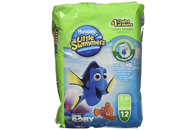47b960263 Amazon.com  Huggies Little Swimmers Disposable Swim Diapers