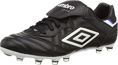 Umbro Speciali Eternal Pro HG Mens Leather Soccer Boots/Cleats Black