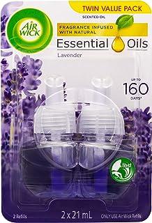 Air Wick Electric Plug In Diffuser Refill Lavender, 2x21ml, Lavender