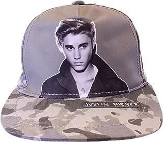 Justin Bieber - Sombrero - para niña Talla única: Amazon.es: Ropa ...