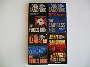 Sandford's 4-book KIDD Series -- The Fool's Run / The Empress File / The Devil's Code / The Hanged Man's Song