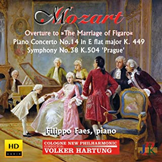 mozart the marriage of figaro piano