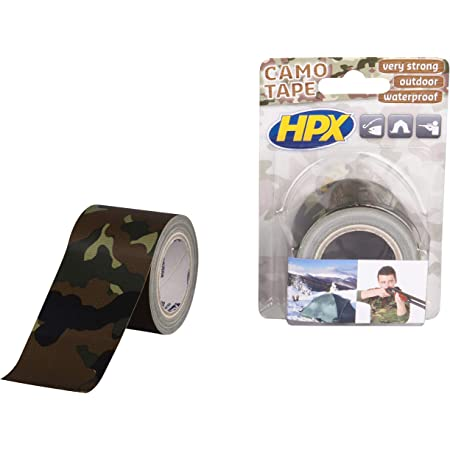 2 Pcs Bande de Camouflage Ruban Adh/ésif Bandes de Motif de Camouflage Autoadh/ésifs Rubans de Motif Non Tiss/é Ext/érieur Camo pour Chasse Camping R/éutilisable Grip Militaire Bande