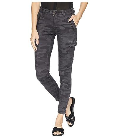 Mavi Jeans Juliette Skinny Cargo in Smoke Camo (Smoke Camo) Women