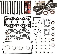 Evergreen HSHBTBK4028-2 Head Gasket Set Head Bolts Timing Belt Kit Fits 92-95 Honda Civic VTEC 1.6 SOHC D16Z6
