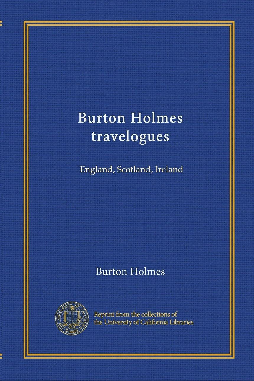 ファブリック遠近法制限するBurton Holmes travelogues: England, Scotland, Ireland