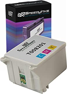 Speedy Inks Remanufactured Ink Cartridge Replacement for Epson T008201 (Color)