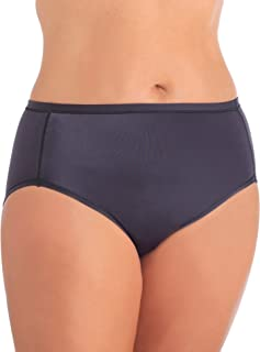 Vanity Fair Women's Plus Size Body Caress Hi Cut Panty 13137