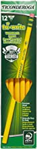 (Pack of 3 Boxes) Ticonderoga Tri-Write Woodcase Pencil, Hb #2, Box of 12