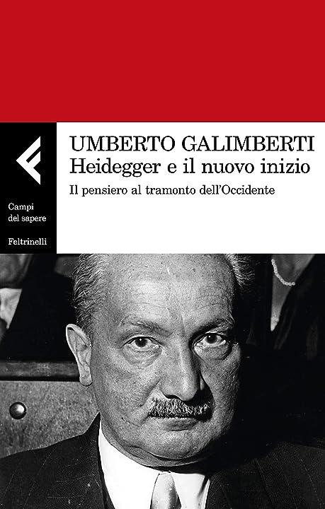 Heidegger e il nuovo inizio. il pensiero al tramonto dell'occidente (italiano)copertina flessibile feltrinelli 978-8807105531
