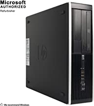 (Renewed) HP Flagship Pro Desktop Computer, Core I5 Up to 3.6GHz, 8GB, 512GB SSD, WiFi, DVD, DP, VGA, USB 3.0, Windows 10 Pro 64 Bit-Multi Language-English/Spanish/French(CI5)