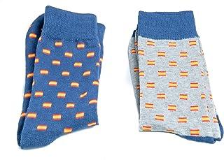Amazon.es: Banderas - Calcetines / Hombre: Ropa