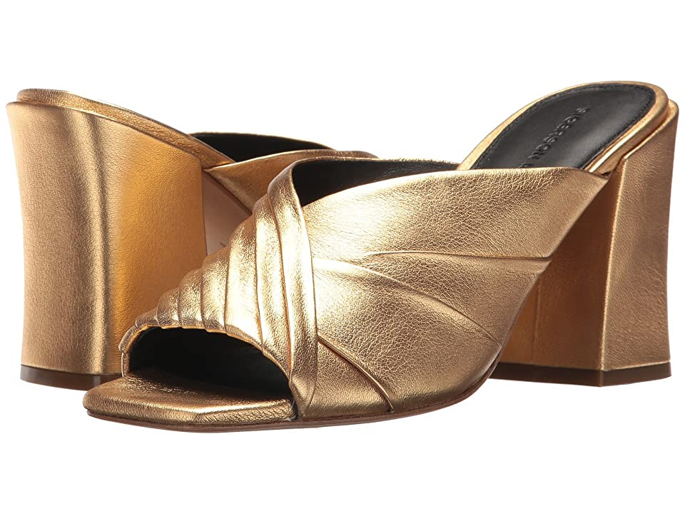 Sigerson Morrison Pramod (Gold Metallic Leather) Women