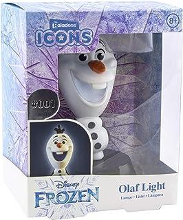 Paladone Olaf Icono de luz Oficial Frozen Coleccionable | Ideal para dormitorios de niños, Oficina y hogar | Pop Culture G...