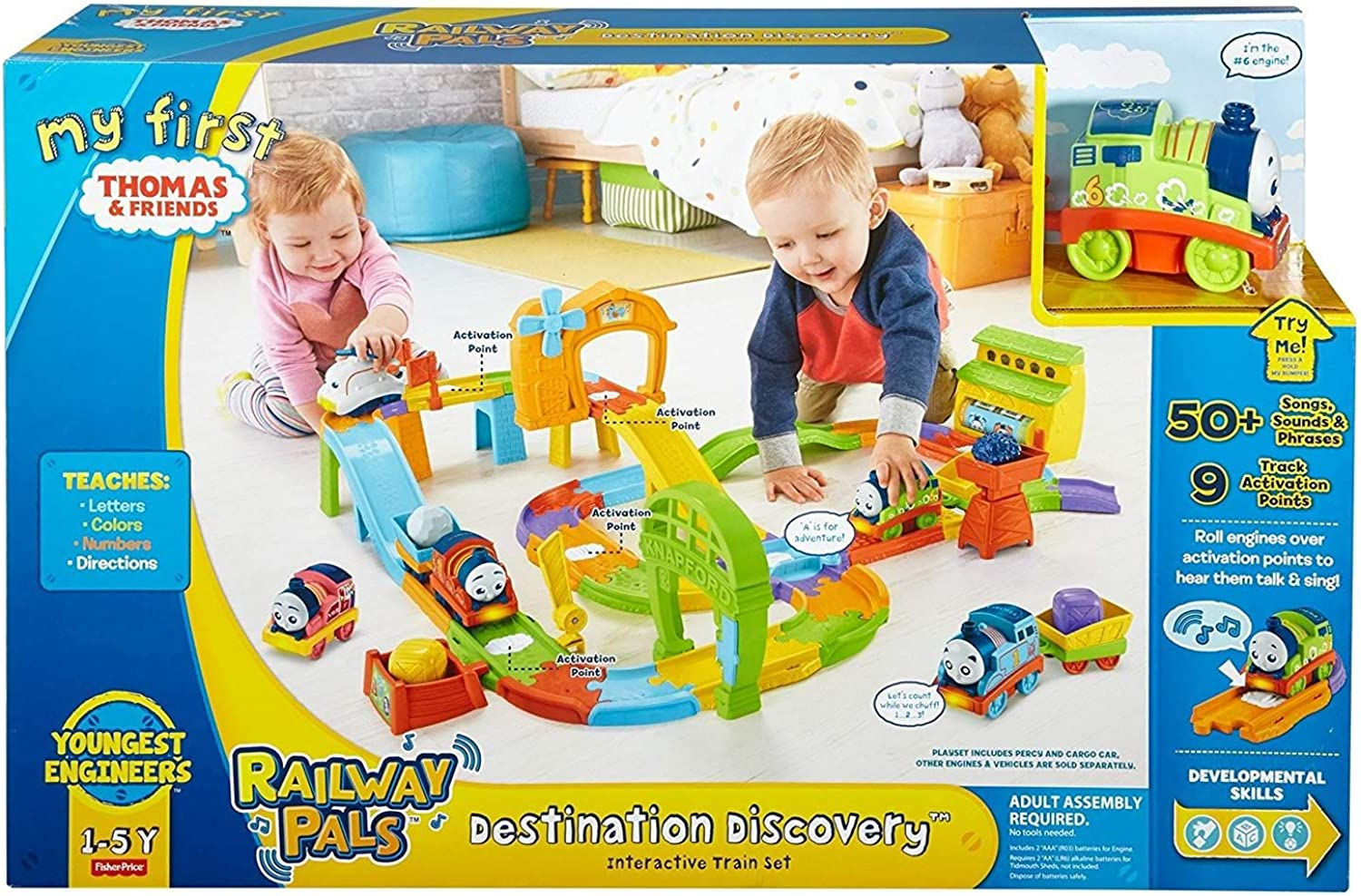 My First Thomas & Friends Railway Pals Destination Discovery