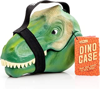 Suck.UK SUCK UK-KIDS LUNCH BOX | TOY STORAGE | BEDROOM DECOR & ORGANIZATION | Dinosaur Case, 9.3 x 4.9 x 6.5 in, Multicolor