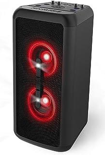 Philips Audio BASS+ NX200 Wireless Bluetooth Party Speaker, Light Effects, Karaoke Features, 160W Max, 2x Mic-inputs, 1x G...