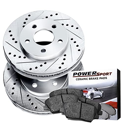 Azera Rear Blank Brake Rotors+Semi-Met Pads Optima Kia Sonata Fits Hyundai