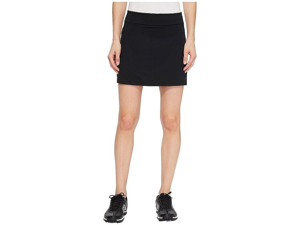 Nike Golf Dry Skort Knit 15 (Black/Flat Silver) Women