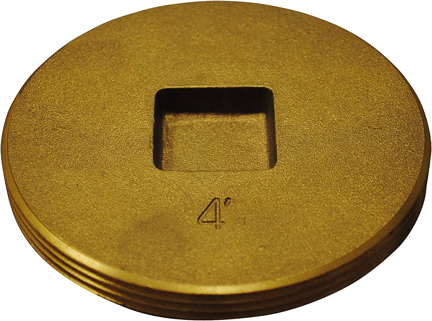 Oatey 42745 4 Easy-to-use in. Brass 4-Inch Cleanout Plug Recessed 25% OFF Head