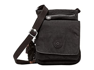 Kipling Eldorado Small Crossbody Bag (Black 1) Cross Body Handbags