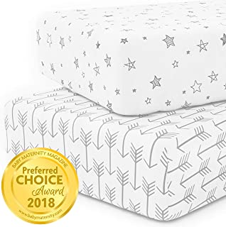 Best 4 fitted crib sheets Reviews