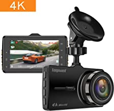 4k Dash Cam,TOGUARD Ultra HD Dash Camera for Car, Car Camera Driving Recorder with 3 Inch LCD Screen 170° Wide Angle, G-Sensor, Parking Monitor, Loop Recording, Motion Detection