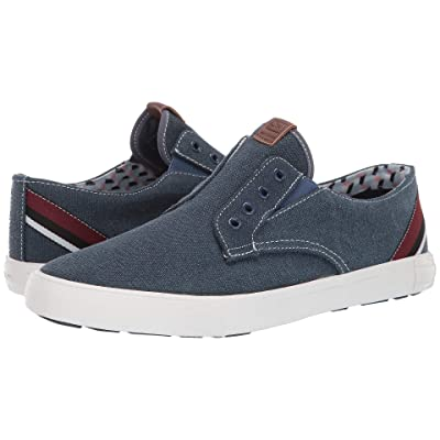 Ben Sherman Percy Laceless (Navy Canvas) Men