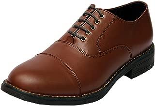 XY HUGO Oxford TAN 5-Eyelet Police Shoe