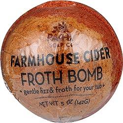 Pacha Soap, Froth Bomb Farmhouse Cider, 5 Ounce