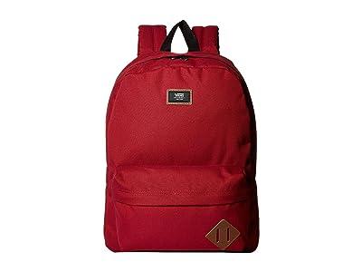 Vans Old Skool II Backpack (Rhumba Red) Backpack Bags