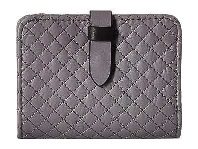 Vera Bradley Carryall RFID Small Wallet (Storm Cloud) Wallet Handbags