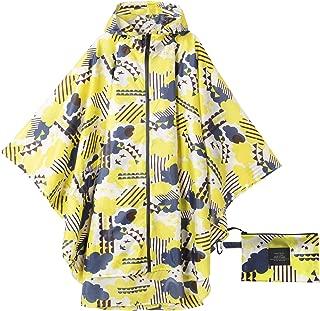 Krespuka Womens Rain Poncho Waterproof Raincoat with Hood Zipper Outdoor Hiking Biking