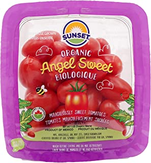 Organic Angel Sweet Grape Tomatoes, One pint