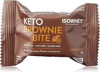 Isowhey Keto Brownie Bite Chocolate, 330g (10 x 33 grams)