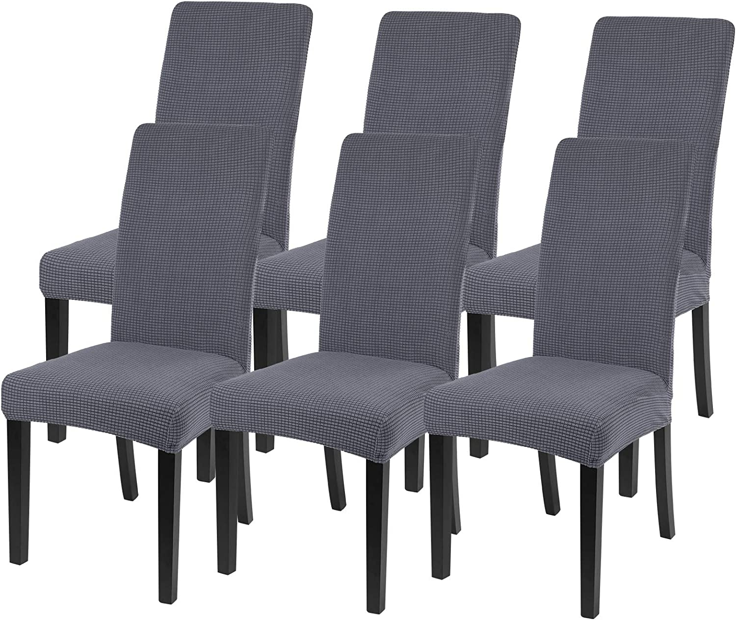 laamei Chair Cover for Dining Room 6 ついに入荷 Set Slip Stretch of 4 倉