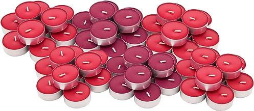 ايكيا SINNLIG 60 قطعة من الشموع المعطرة / قطر 3.8 سم كوب من الألومنيوم / 4 ساعات وقت الاحتراق / صنع في الولايات المتحدة ال...