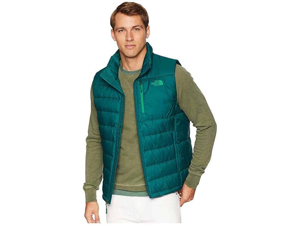 1527528097cb The North Face Aconcagua Vest (Botanical Garden Green) Men s Vest