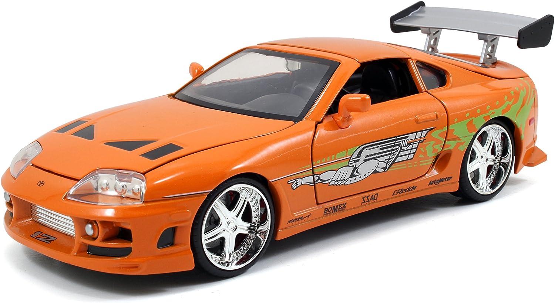 RÁPIDO Y Furious 1995 Toyota Supra 1:24 Escala Die-Cast Replica Car